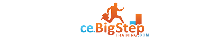 Big Step Training - CE Logo